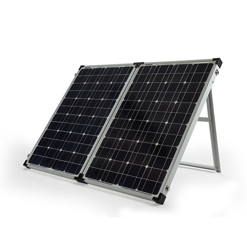 140w Portable Folding Solar Kit Mickey Blu