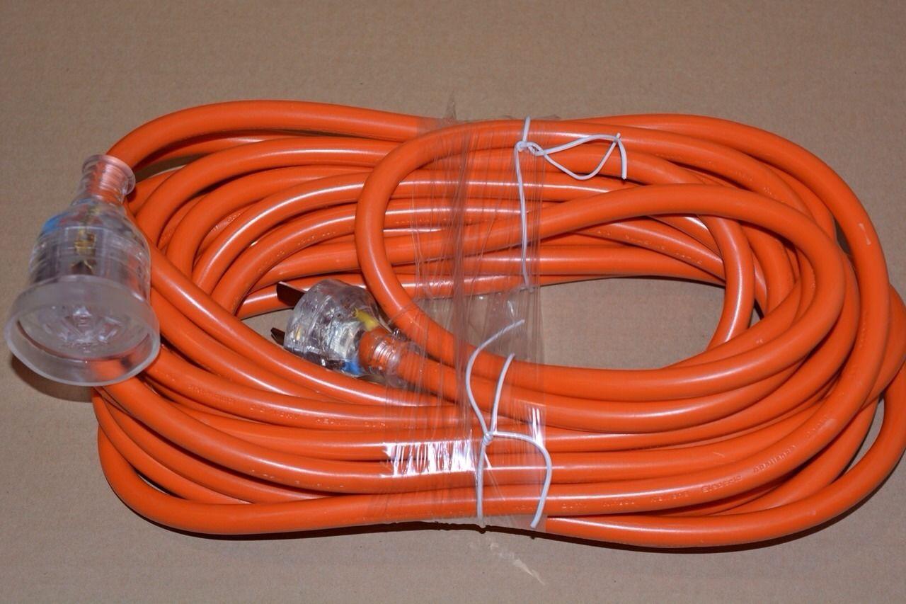 10 Metre 15 Amp Ac Extension Lead Caravan Workshop
