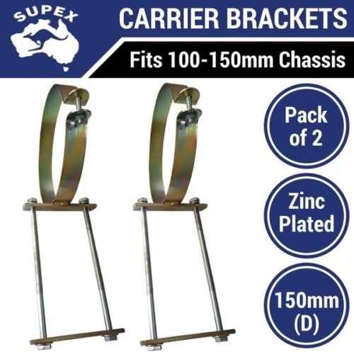 Pole Carrier Brackets For 150mm Tube Sold In Pairs